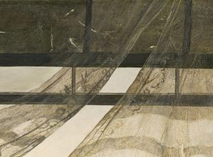 Wind From the Sea Painting of Andrew Wyeth