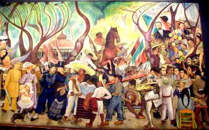 Dreams of a Sunday Afternoon in the Alameda Central Diego Rivera Most Famous Paintings