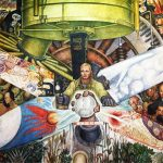 Man at the Crossroads Diego Rivera Lenin Painting