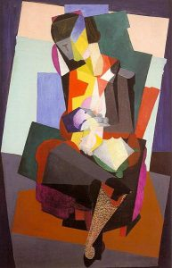 Motherhood Angelina and the Child Diego Rivera Cubist Paintings