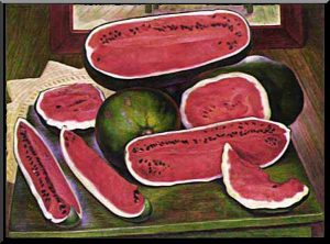 The Watermelons Diego Rivera's Last Painting