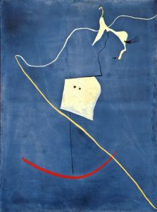Circus Horse Surrealism Painting of Joan Miro