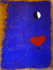 Joan Miro Dancer Painting