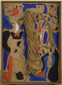 Joan Miro Rope Painting