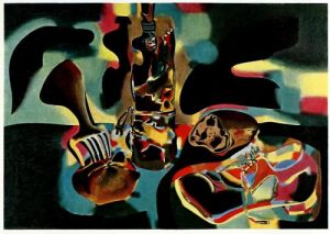 Still Life with Old Shoe Joan Miro Surrealism Painting