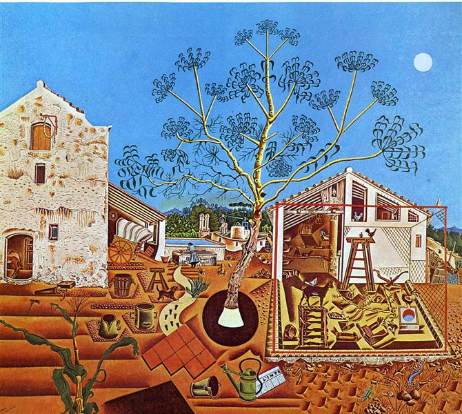 The Farm Joan Miró Abstract Paintings