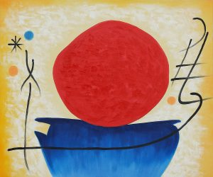 The Red Sun Famous Paintings of Joan Miro