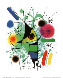 The Singing Fish Joan Miro Abstract Work